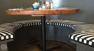 restaurant bench cushions replaced