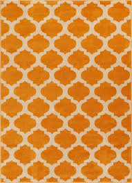 Modern Trellis Rug Zoe Orange Modern Trellis Rug Well Woven