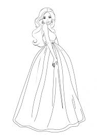 download coloring pages barbie coloring pages free barbie