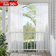 Sheer Curtains Tab Top Sheer Curtains Panels For Patio Ryb Home Window