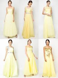 yellow dresses for weddings wedding philippines yellow dresses gowns gowns