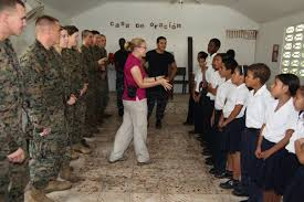 marines bring joy to costa rican students u003e 2nd marine aircraft