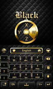 go keyboard apk black n gold go keyboard theme 3 5 apk android 2 1 eclair