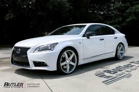 lexus ls460 vossen wheels lexus ls460 with 22in vossen cv3 r wheels exclusively from butler