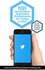 202 must follow real estate professionals on twitter in 2018