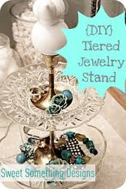 Pottery Barn Jewelry Stand Pottery Barn Inspired Tiered Jewelry Holder Tutorial Craft