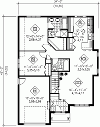 simple small house floor plans this ranch home has 1120 square