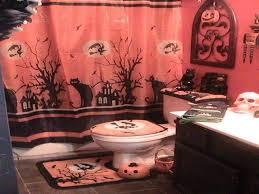 Halloween Bathroom Decor Halloween Decor Design Sets For Bathroom Dweef Com Bright And