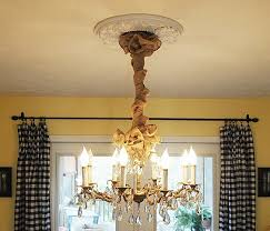 Burlap Chandelier Shades Dining Room Decorating Autumn Changes I Made A Cultivated Nest