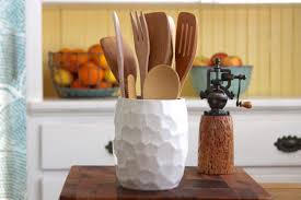 kitchen utensil canister home accessories astonishing utensil caddy in contemporary kitchen