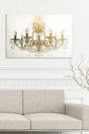 oliver gal gallery chandelier diamond 45x30 canvas wall art oliver gal gallery chandelier diamond 45x30 canvas wall art nordstrom rack