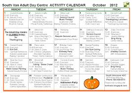 south vancouver and beulah day programs october 2012