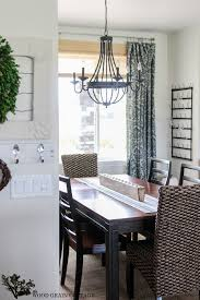 Light Dining Room by New Dining Room Light The Wood Grain Cottage