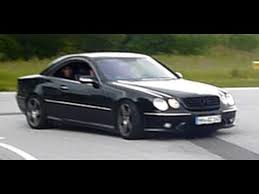 mercedes cl55 amg mercedes cl 55 amg acceleration