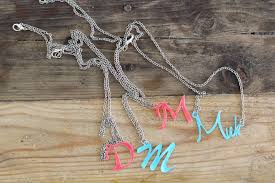make your own name necklace how to make your own name necklace