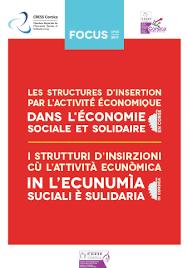 chambre r馮ionale de l 馗onomie sociale et solidaire l économie sociale et solidaire en corse cress corsica