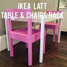 ikea hack lätt playtable u0026 chairs veronika u0027s blushing