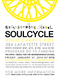 pta treasurer report template file the neighborhood school soulcycle poster