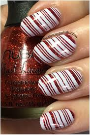 candy cane u2013 challenge your nail art model city polish