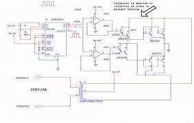 12vdc to 220vac 500w inverter diagram circuits schematics