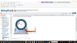 for the design of the band brake shown find the c chegg com