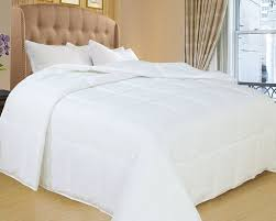 amazon com natural comfort white down alternative comforter with