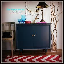 the turquoise iris furniture u0026 art mid century indigo blue mini bar