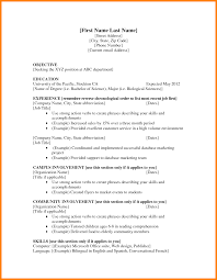 Resume For First Job by Abbreviation For Resume Resume For Your Job Application