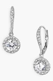 drop earings nadri cubic zirconia drop earrings nordstrom