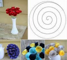 membuat hiasan bunga dari kertas lipat cara membuat hiasan bunga mawar dari karton kumpulan ide cara