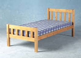 3ft 90cm single carlow wooden bed frame amazon co uk kitchen