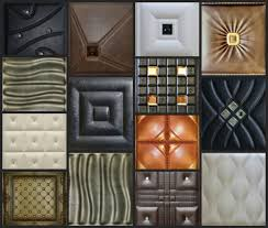 faux leather decorative tiles for walls u0026 ceilings