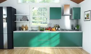 buy straight kitchen online in livspace com
