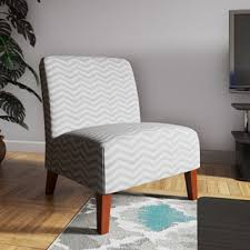 Chevron Accent Chair Grey White Chevron Accent Chair Free Shipping Today