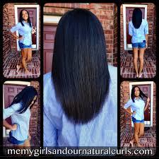 the best way to straighten hair kirby