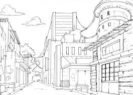 this is a 1 point perspective drawing this is a drawing of a high
