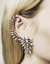 hanging earrings aliexpress buy pearl ear hanging earrings stud