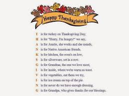 thanksgiving poems for family mypoems co