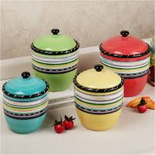 luxury colorful kitchen accessories