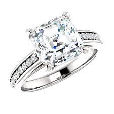 cyber monday engagement ring deals 2016 8mm asscher cut forever - Engagement Ring Deals