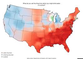 Cultural Regions Of The United States Map by These Dialect Maps Showing The Variety Of American English Have