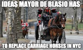 Meme Nyc - meme d from the headlines nyc horse carriages the interrobang