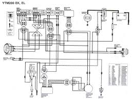 lighting system circuit diagram for 2005 yamaha dt125x 58889