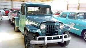 old military jeep truck 1951 jeep willys pick up four wheel drive vintage 4x4 youtube
