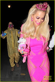 madonna halloween costumes rita ora looks gets all dolled up as barbie for halloween photo