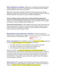 Health Care Services Australia Health Mandatory Interview Preperation Nursing Home Care Elderly Care