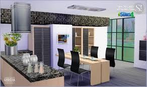 sims kitchen ideas liscia kitchen at simcredible designs 4 sims 4 updates sims 4