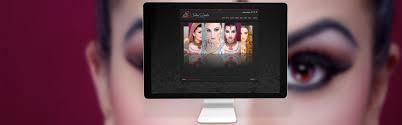 Professional Makeup Artist Websites Website Design For Professional Uk Makeup Artist Alloy Marketing Ltd