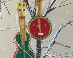 instrument ornament etsy
