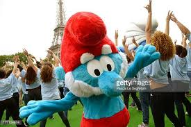 papa smurf stock photos pictures getty images